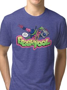 Fresh Pool (cool colors) Tri-blend T-Shirt