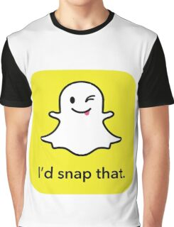 "I'd ""snap"" that.  Graphic T-Shirt"