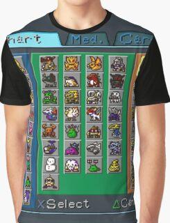 Digimon Chart Graphic T-Shirt