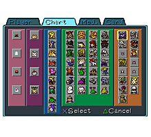Digimon Chart Photographic Print