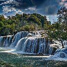 Krka Waterfalls by Colin Metcalf