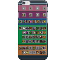 Digimon Chart iPhone Case/Skin