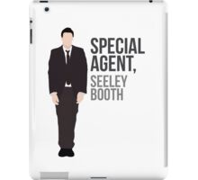 Special Agent Seeley Booth iPad Case/Skin