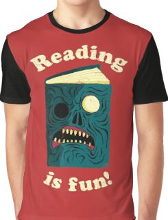 Reading is Fun Graphic T-Shirt