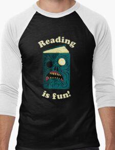 Reading is Fun Men's Baseball ¾ T-Shirt