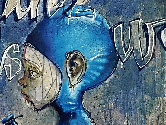 Feeling blue? by heinrich