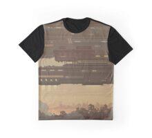 Evening Spaceship Graphic T-Shirt