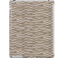 Vintage Lines Hearth Brown iPad Case/Skin