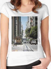 Streets of San Francisco Women's Fitted Scoop T-Shirt