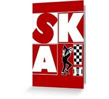 Rude Boy SKA Forever Greeting Card