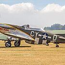 "TF-51D Mustang N251RJ 44-84847 CY-Ḏ ""Miss Velma"" by Colin Smedley"