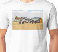 """TF-51D Mustang N251RJ 44-84847 CY-Ḏ """"Miss Velma"""" Unisex T-Shirt"""