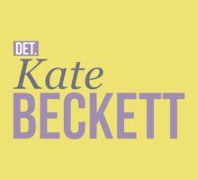 Detective Kate Beckett One Piece - Short Sleeve