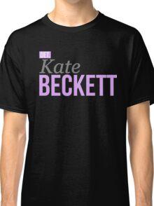 Detective Kate Beckett Classic T-Shirt