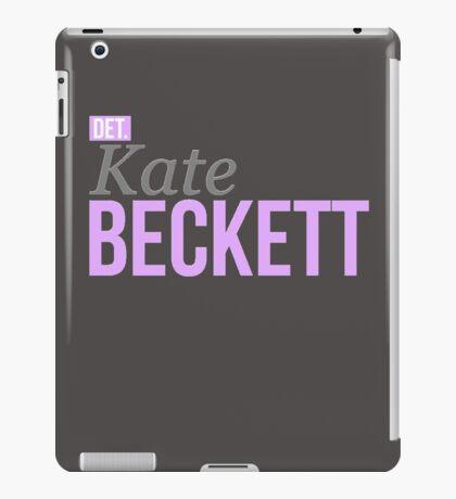 Detective Kate Beckett iPad Case/Skin