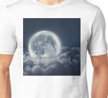 The Girl And The Moon  Unisex T-Shirt