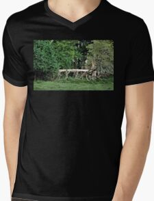 """""""Natural Fencing""""... prints and products Mens V-Neck T-Shirt"""