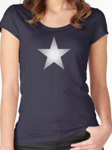 Silver Star Women's Fitted Scoop T-Shirt