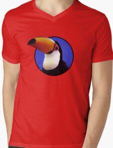 Toco Toucan Mens V-Neck T-Shirt