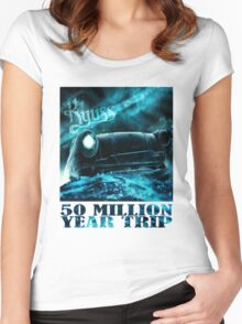 50 Million Year Trip Women's Fitted Scoop T-Shirt