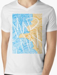 Mad Max Design (Transparent) Mens V-Neck T-Shirt