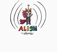 Align & Shine: Cute Unicorn Chakra Illustration Watercolor Women's Tank Top