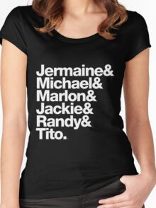 The Jacksons - Don't Forget About Randy! Women's Fitted Scoop T-Shirt