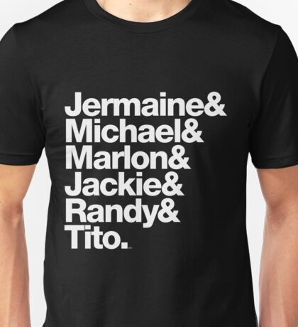 The Jacksons - Don't Forget About Randy! Unisex T-Shirt