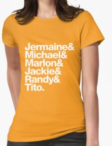 The Jacksons - Don't Forget About Randy! Womens Fitted T-Shirt