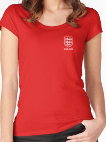 England Women's Fitted Scoop T-Shirt