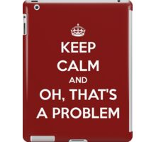 Keep Calm... Oh iPad Case/Skin