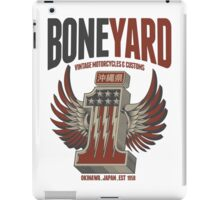 Boneyard Motorcycles No1 Japan Wings t-shirt iPad Case/Skin