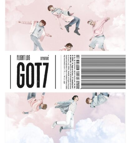 GOT7 Flight Log: Departure album cover Sticker