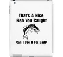 Fish Bait iPad Case/Skin