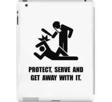 Get Away With It iPad Case/Skin