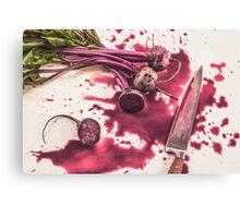 Murder Canvas Print