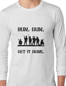 Military Get It Done Long Sleeve T-Shirt