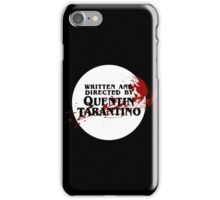 Quentin Tarantino (Transparent) iPhone Case/Skin