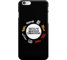 Quentin Tarantino Films iPhone Case/Skin