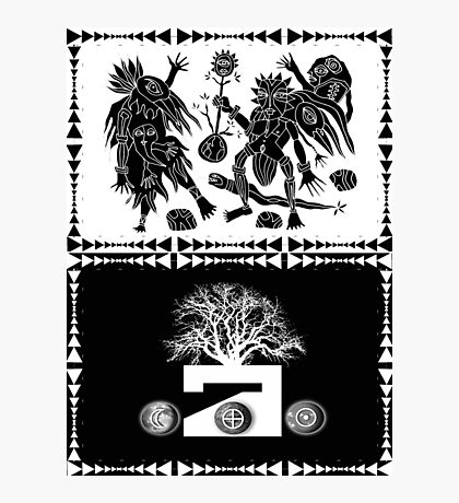 conceptual dance. Photographic Print