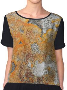 Nature abstract Chiffon Top