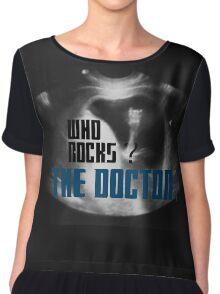 Who rocks? - The Doctor! Chiffon Top