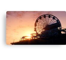 Del Perro Pier Sunset - GTA V Canvas Print