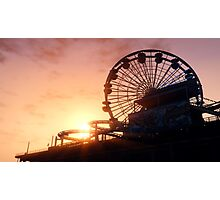 Del Perro Pier Sunset - GTA V Photographic Print