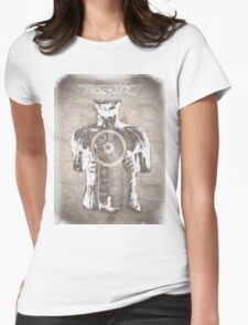 Donnie Darko, Quote and Time Travel Illustration Womens Fitted T-Shirt