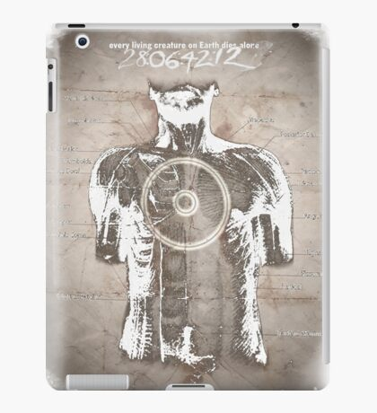 Donnie Darko, Quote and Time Travel Illustration iPad Case/Skin