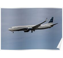 Boeing 737 Private Jet Poster