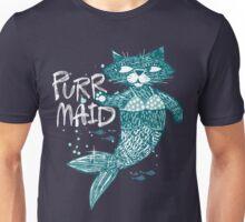 Purrr-Maid cats Unisex T-Shirt