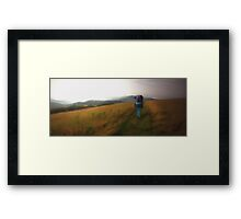 Time to wander Framed Print