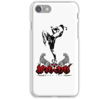 Muay Thay Boxing Knee Thailand Martial Art  iPhone Case/Skin